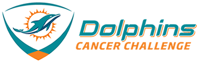 Dolphins Cancer Challenge Logo